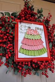 christmas berry wreath ccc i heart nap time
