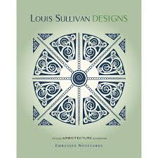 embossed note cards louis sullivan designs embossed notecard set lacma store