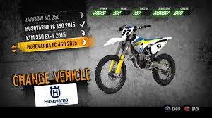 motocross vs atv 2015 husqvarna fc 450 mx on ps4 official playstation store us