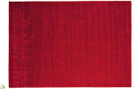 tappeto moderno rosso tappeto moderno a quadrati hola arredo design