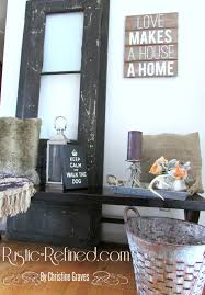 entryway decor changes for the new year rustic u0026 refined