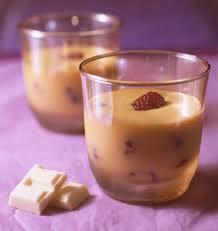 cuisine mousse au chocolat mousse au chocolat blanc et fruits de la noël les
