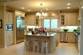 antique open spacious kitchen design