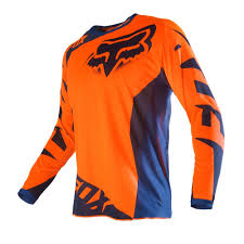 motocross gear closeouts fox racing 2016 180 race jersey orange blue available at motocross