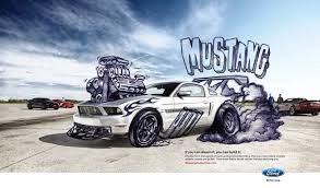 ford mustang ads mustang ford mustang mustangcustomizer com print ad by team
