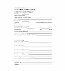 generic incident report template injury incident report template injury incident report form