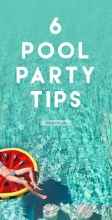 Pool Party Ideas 112 Best Pool Party Images On Pinterest Birthday Party Ideas