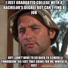College Degree Meme - i just graduated college with a bachelor s degree funny