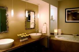 Pendant Lighting In Bathroom 21 Fantastic Bathrooms With Two Mirrors Pictures