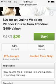 wedding planner certification anyone can become a certified wedding planner for 29 through