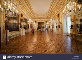 poland city of warsaw royal castle interior the knights hall