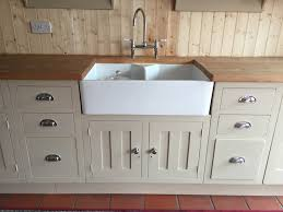 butler sink unit bespoke design in reclaimed pine u0026 painted in