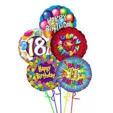 balloons for 18th birthday happy 18th birthday balloons bouquet colorado springs florist your