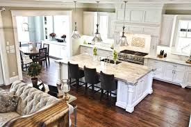 Kitchen And Dining Room 5 Open Floor Plans For Your Living Area Open Concept Living Spaces