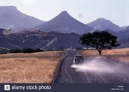 Table Top Mountain by Ancient Landscape Palmwag To Sesfontein Extinct Volcanoes And