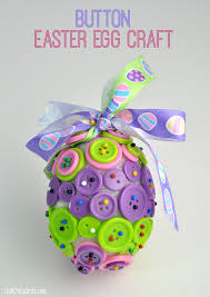 button easter egg ornament craft club chica circle where