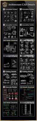 autocad architektur alle architektur cad details sammlungen alle cad detail dwg