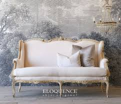 Eloquence One Of A Kind Vintage French Gilt Cane Louis Xvi Style Twin Bed Pair 1443 Best My Home Style Eclectic Elegance Images On Pinterest