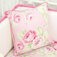 Shabby Chic Pillow Covers by Shabby Chic Bumperless Ruffle Crib Bedding Caden Lane