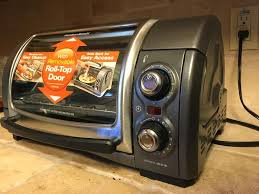 Small Toaster Oven Reviews Thefoodette U0026 Family Hamilton Beach Easy Reach Toaster Oven Review