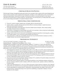 Resume With Results Sample Resume With Position Desired Recruiter Resume Samples