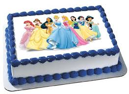 disney princesses cake topper cupcake topper frosting sheet