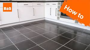 how to cut ceramic tile around kitchen cabinets how to tile a floor part 1 preparation