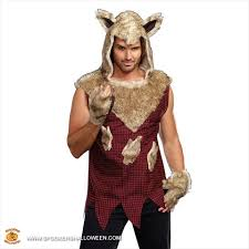 halloween costumes for a guy big bad wolf costumes for men spookers halloween