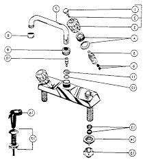 moen kitchen faucets parts diagram 28 images moen kitchen sink