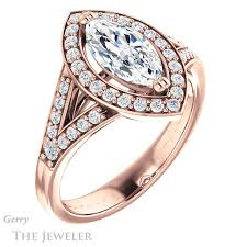 marquise cut engagement rings marquise cut engagement ring setting gtj1112 marquise r gerry