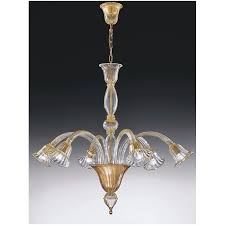 Gold Glass Chandelier Voltolina Laguna Glass Chandelier Gold 501600cg 6d Free Delivery