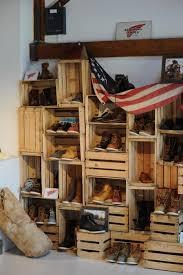 Crates For Bookshelves - 39 best bookshelves repurposed images on pinterest bookshelves