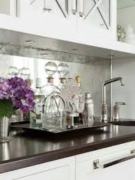 Mirror Backsplash Tiles by Diamond Pattern Antiqued Mirrored Backsplash Tiles Kitchens