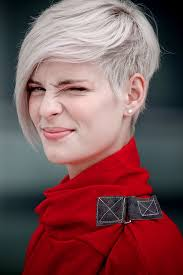 older women with platinum blonde pink hair funky hairstyles for short hair hairiz