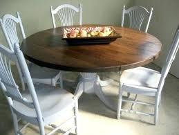 round farmhouse dining table farmhouse round table iamfiss com