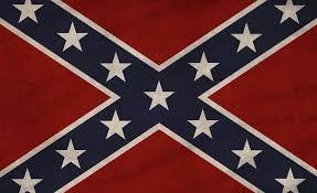 New Rebel Flag Throw Pillow
