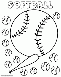 abc pages to print softball coloring page pages my abc ideas 8586