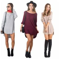 clubbing clothes sleeve club dresses o neck solid dress club dresses