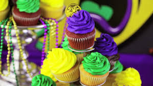 mardi gras table decorations table decorated for mardi gras party stock footage 11628074