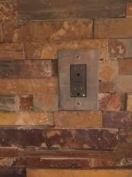 slate kitchen backsplash california gold rush slate ledger stone backsplash slate switch