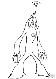 10 aliens coloring pages to print