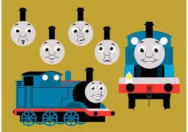 thomas train vector free download free vector art stock