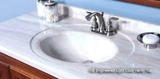 St Paul Bathroom Vanities St Paul Bathroom Vanity Effects Vanity Top In Sun With White