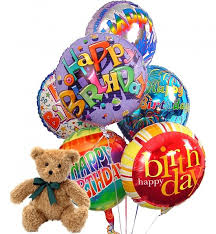 birthday balloon delivery san diego birthday balloons 6 mylar balloons send a