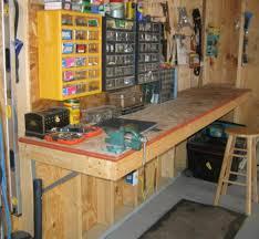 garage workbench designs shop corner shape garage workbench designs over free woodcraft plans allcrafts