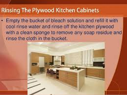 How To Wash Cabinets How To Clean Plywood Kitchen Cabinets