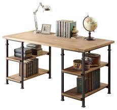 rustic pine writing desk homelegance factory writing desk in rustic oak desks and hutches