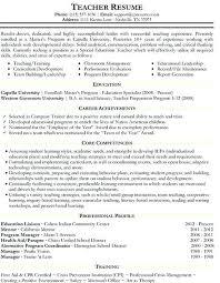Paraprofessional Resume Sample Sample Resume For Paraprofessional Position Business Teacher