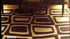 video how to design and make rugs martha stewart
