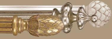 custom curtain rods and drapery hardware designer drapery hardware